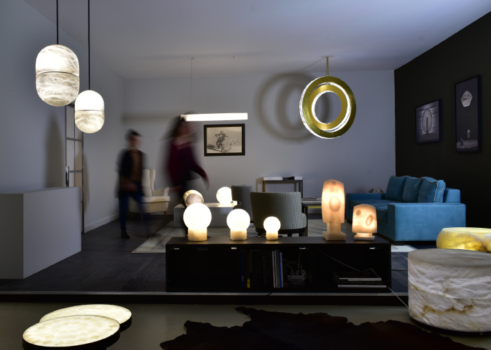 les showrooms de l 39 atelier alain ellouz. Black Bedroom Furniture Sets. Home Design Ideas