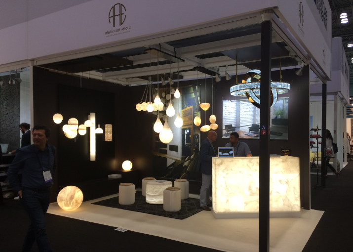 atelier alain ellouz at icff 2017. Black Bedroom Furniture Sets. Home Design Ideas